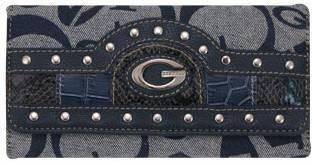 Blue G-Style Wallet - KW133