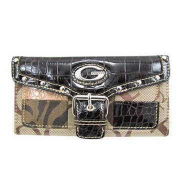 Brown G-Style Wallet - KW163