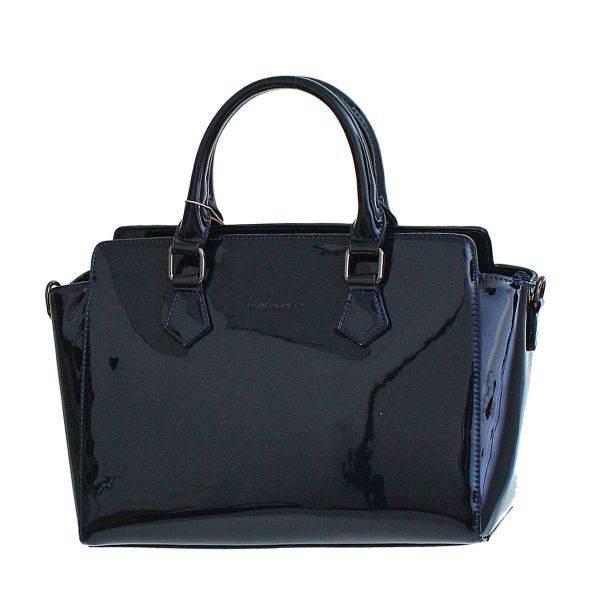Blue David Jones Satchel Handbag - 3943-2