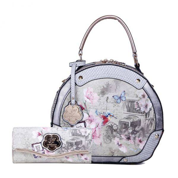Gery Arosa Vintage Darling Handbag Set - BA8102-BAW8682