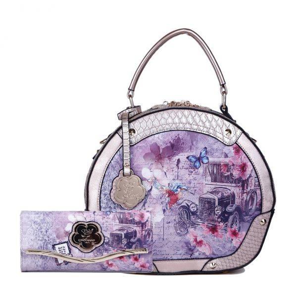L.Gold Arosa Vintage Darling Handbag Set - BA8102-BAW8682