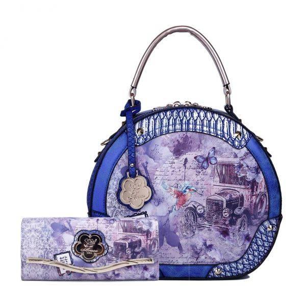 R.Blue Arosa Vintage Darling Handbag Set - BA8102-BAW8682