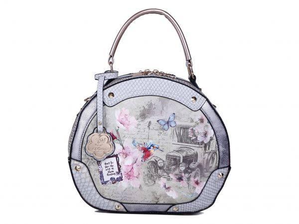 Grey Arosa Vintage Darling Handbag - BA8102