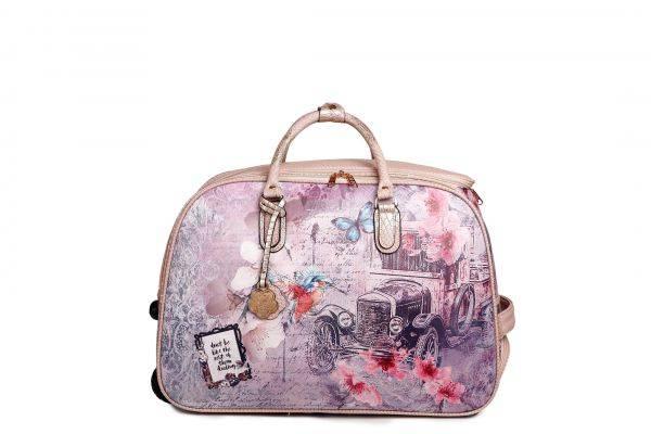 L.Gold Arosa Vintage Darling Duffle Handbag - BAD6988
