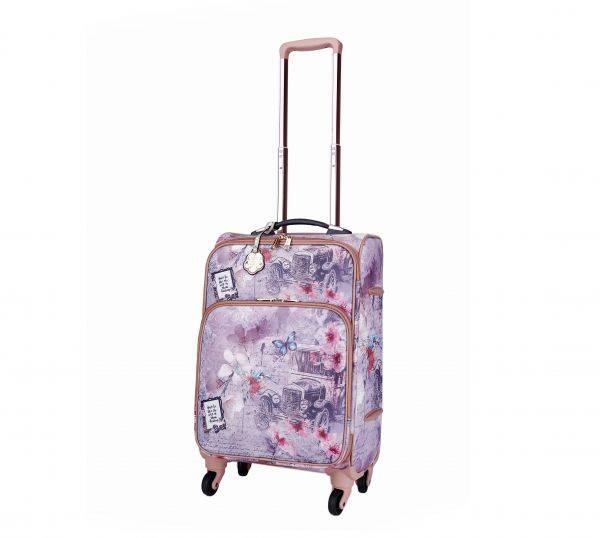 L.Gold Vintage Darling Carry-On Luggage - BAL6999