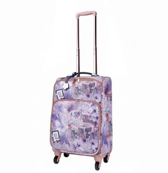 R.Blue Vintage Darling Carry-On Luggage - BAL6999