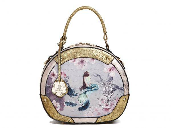 Gold Arosa Princess Mermaid Handbag - BC8102