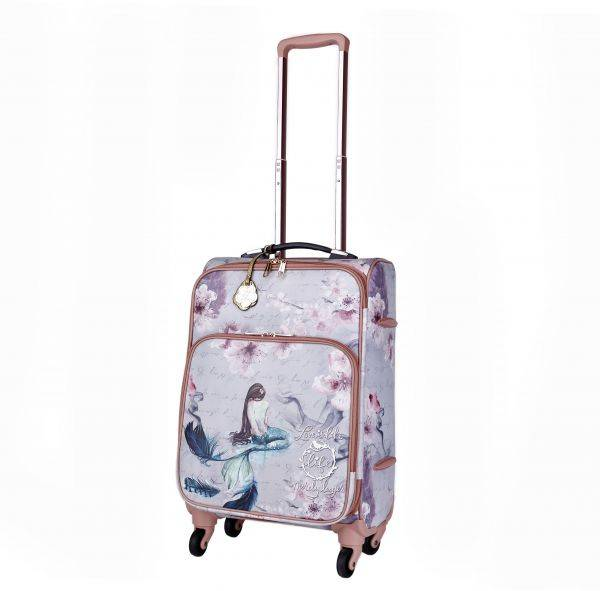 Gold Arosa Princess Mermaid Carry-On Luggage - BCL6999