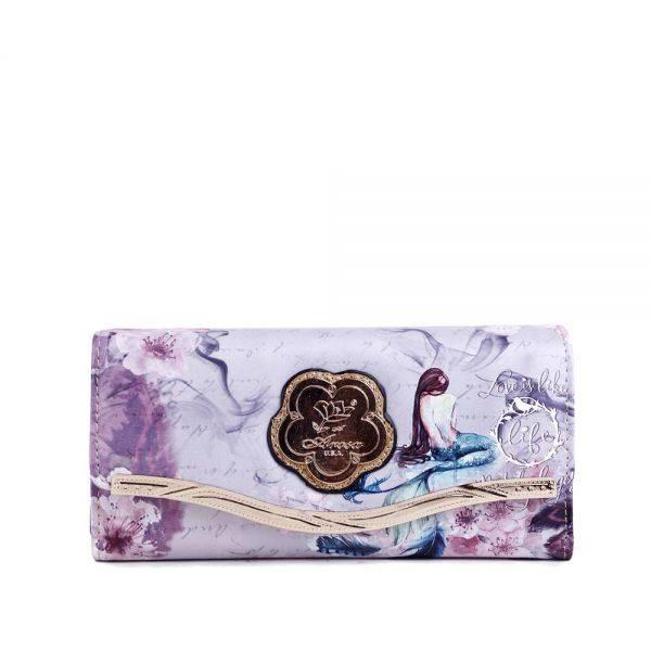 Gold Princess Mermaid Matching Wallet - BCW8682