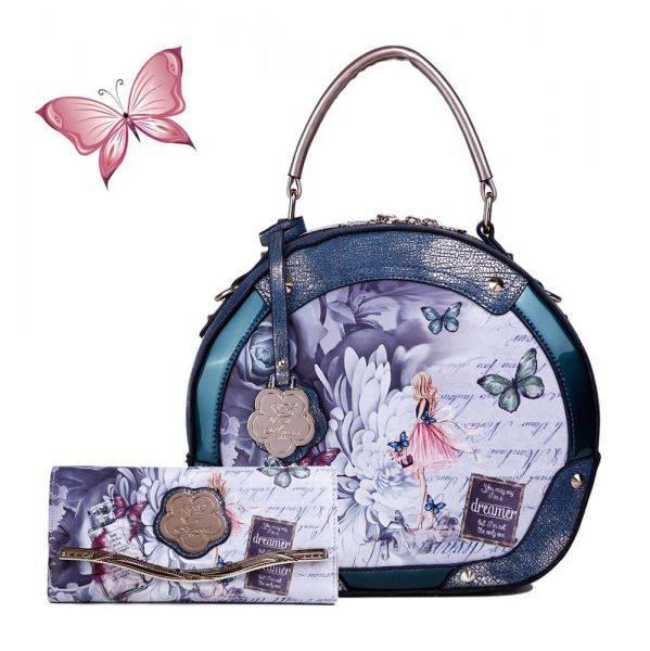 Green Arosa Dreamers Handbag - BF8102-BFW8682
