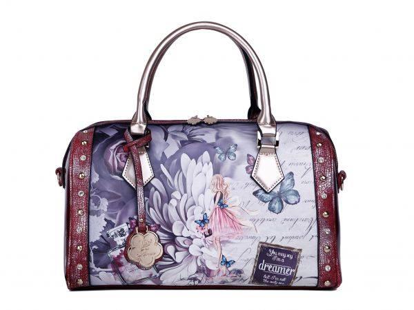 Burgundy Arosa Dreamers Handbag - BF8607