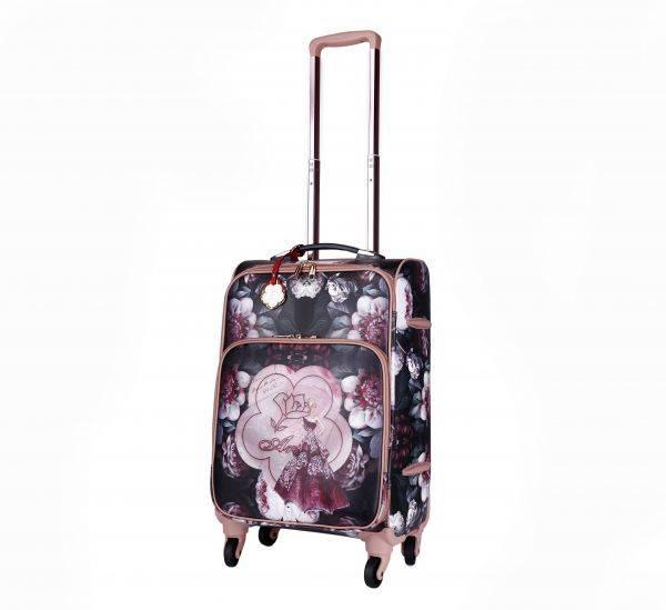 Burgundy Arosa Dreamers Carry-On Luggage Roller - BGL6999