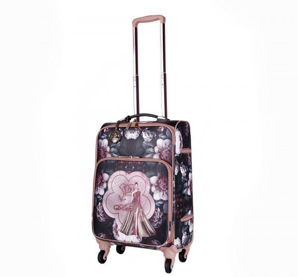 Bronze Arosa Dreamers Carry-On Luggage Roller - BGL6999