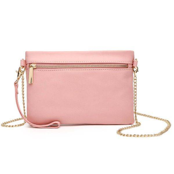 Pink Fashion Crossbody Clutch Wristlet - BH 830