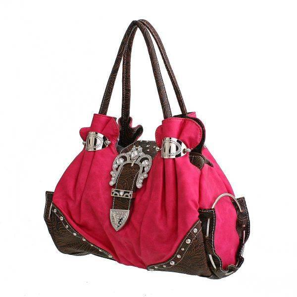Fuchsia Fashion Shoulder Bag - G1364