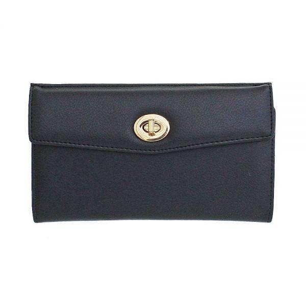 Black Fashion Wallet - GP663