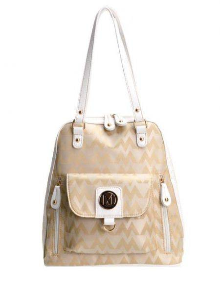 White M-Style Wholesale Backpack - K1536