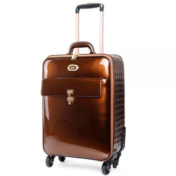 Bronze Euro Moda Carry-On Luggage - KBL8899