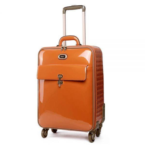 Orange Euro Moda Carry-On Luggage - KBL8899