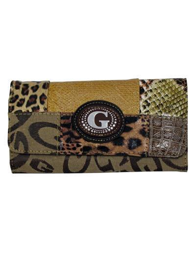Brown G-Style Wallet - KW200