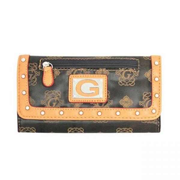 Orange G-Style Wallet - KW219