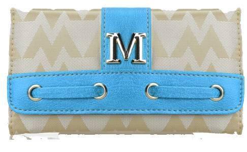 Blue M-Style Wallet - KW292