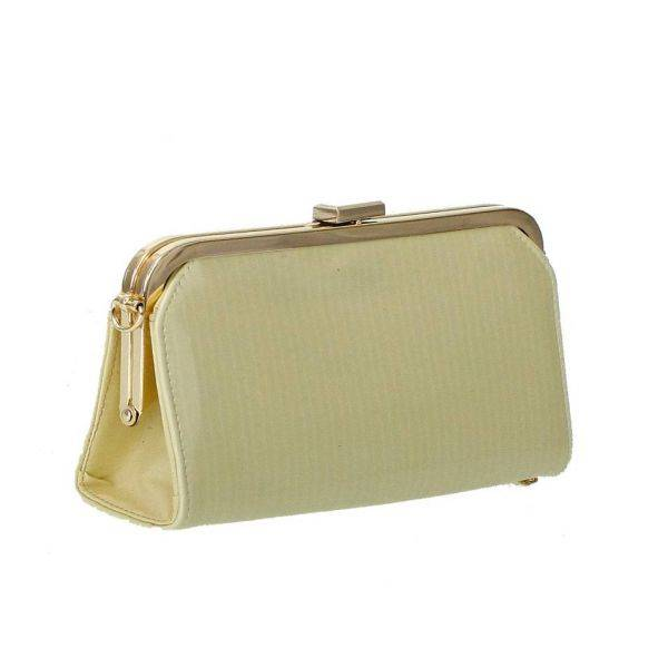 Beige Fashion Clutch Wallet - LF1560