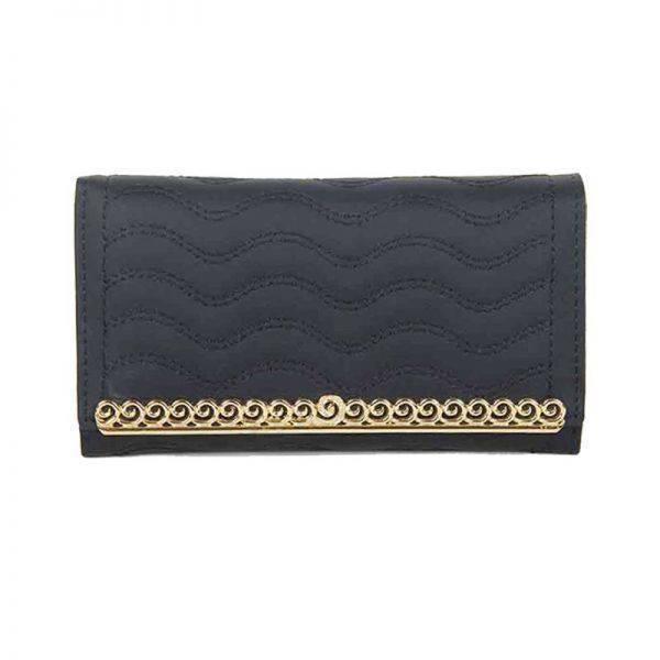Black Fashion Wallet - LF1562-1