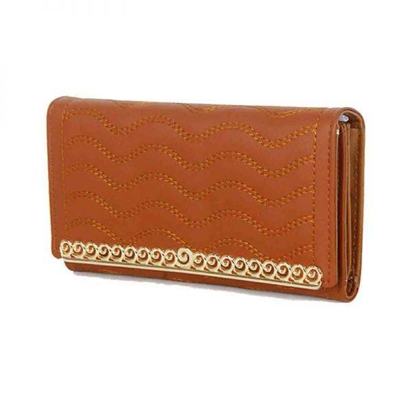 Brown Fashion Wallet - LF1562-1