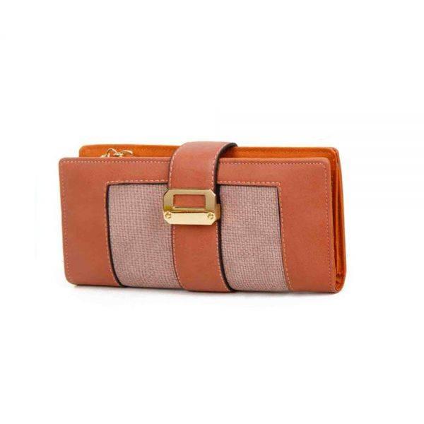 D.Pink Fashion Wallet - LF17755