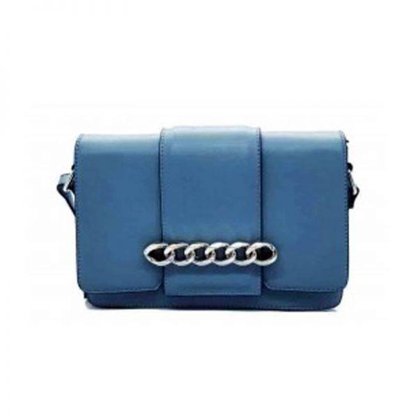 Blue Fashion Elegant Lady Handbag - LF18128