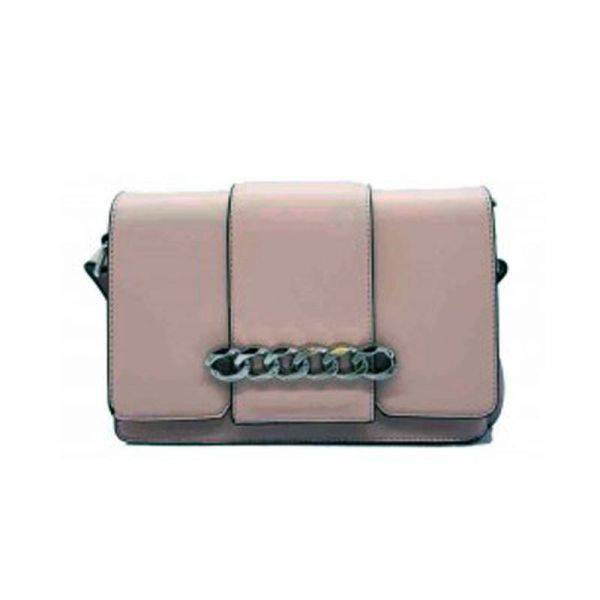 Pink Fashion Elegant Lady Handbag - LF18128