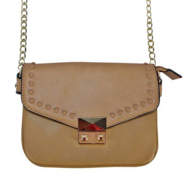 Brown Fashion Crossbody Bag - LS0396