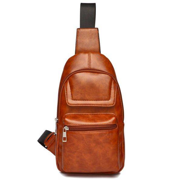 Brick Over Shoulder Multi Compartment Sling Bag - MBA 5656