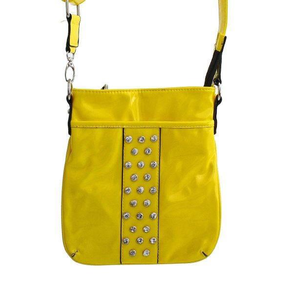 Light Yellow Fashion Neon Messenger Bag - NP443