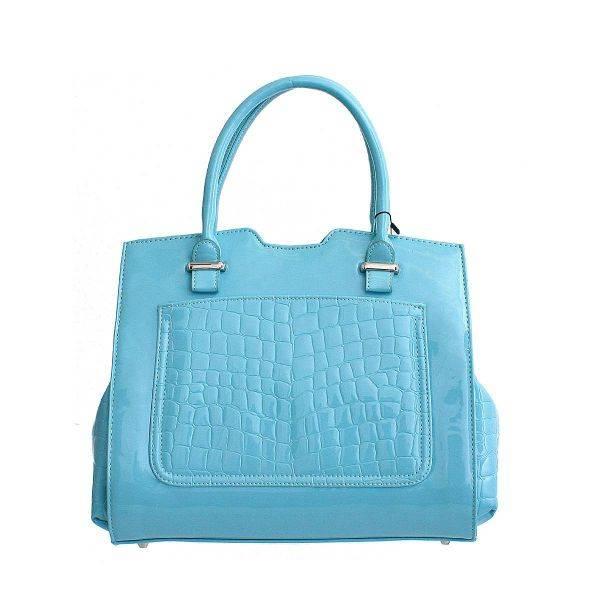 Blue Prestigio Satchel Handbag - PG236