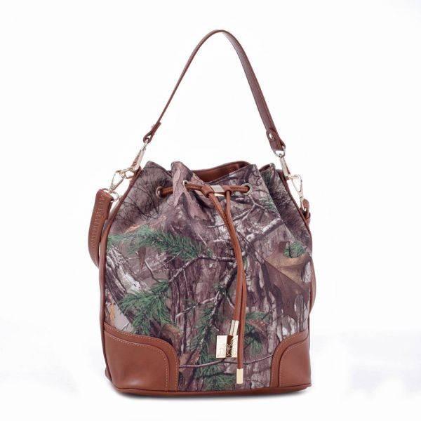 Brown 'Real Tree' Camo Bucket Bag - RG1-512270 XTRA