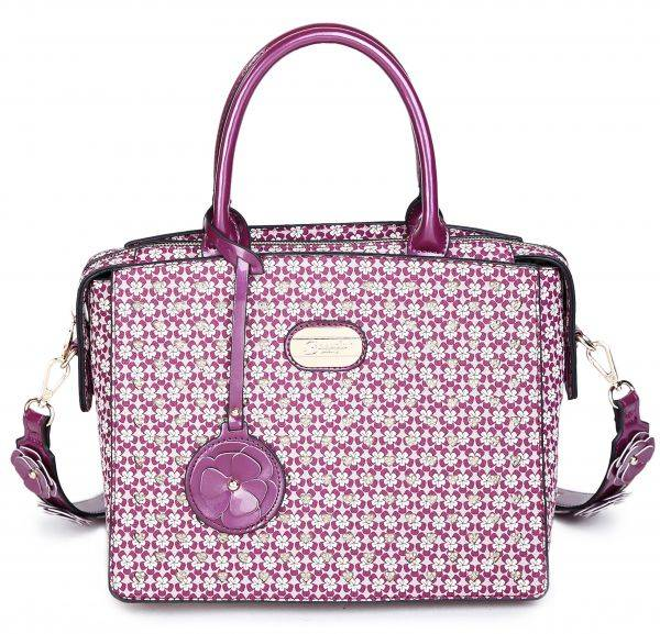Purple Twinkle Star Crystal Blink Blink Handbag - RL3258