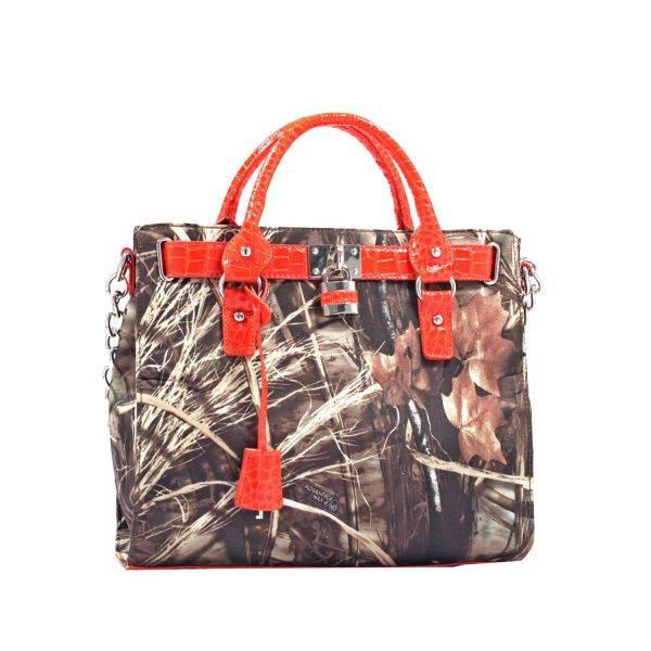 Orange 'Realtree' Satchel Handbag - RT1-500667A MAX4