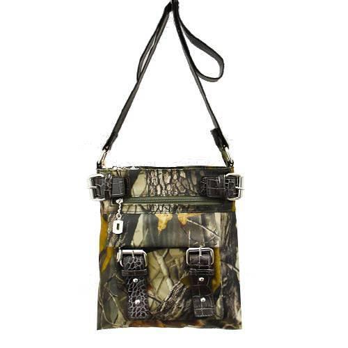 Black Western Realtree Camouflage Messenger Bag - RT1-8535A APG