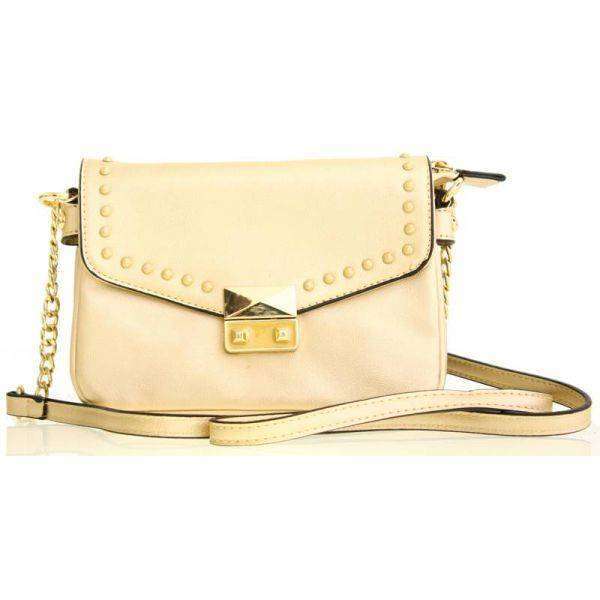 Golden Fashion Crossbody Bag - LS0396