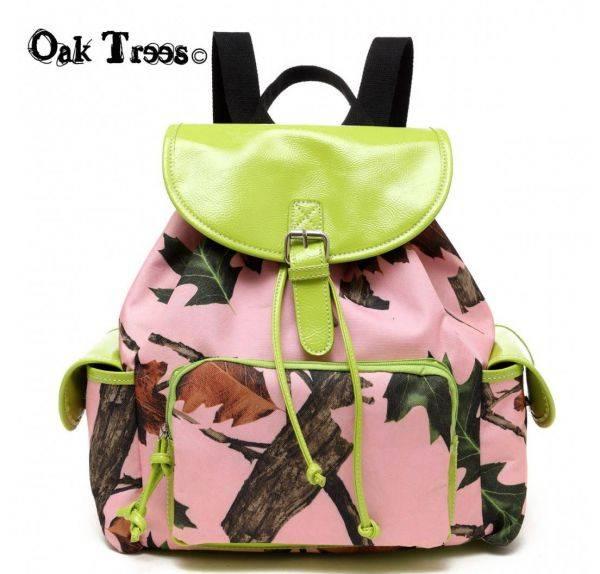 Lime Leaves N Trees Backpack - PML5 5252