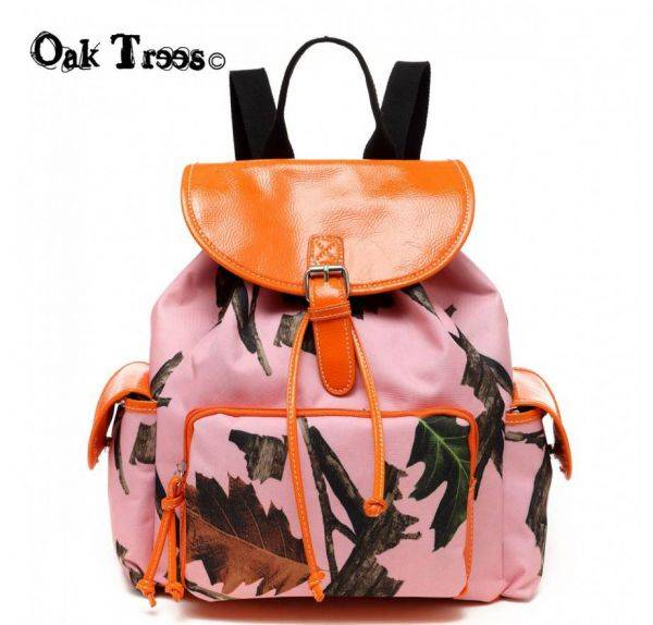 Orange Leaves N Trees Backpack - PML5 5252